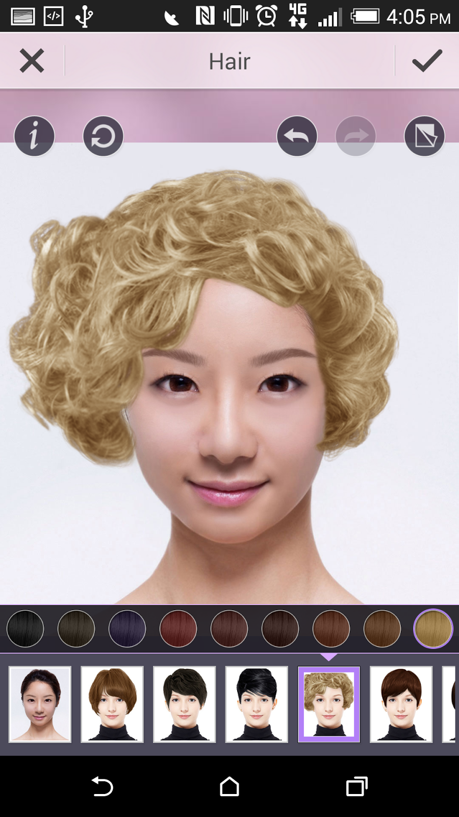 Fine Be Fearless Try Out A New Hairstyle With Our Virtual Hair Salon Short Hairstyles Gunalazisus
